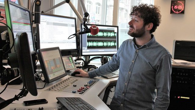Töne-Workshop bei Radio Hamburg
